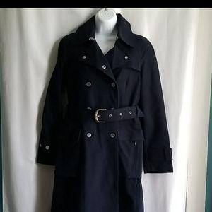 Hilfiger navy blue coat